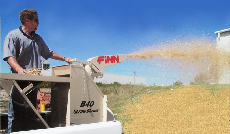 Finn B40S Straw Blower full