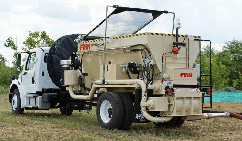 Finn BB1208 Bark Blower full
