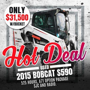 Used 2015 Bobcat S590